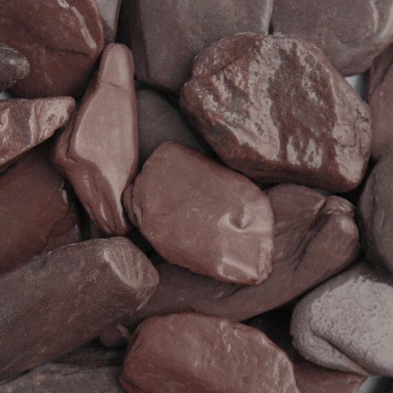 Image of Plum Slate Paddlestones 50 - 100mm